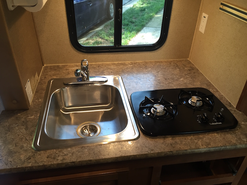 Stainless Sink Upgrade & Exterior Shower Install - R-pod Owners Forum