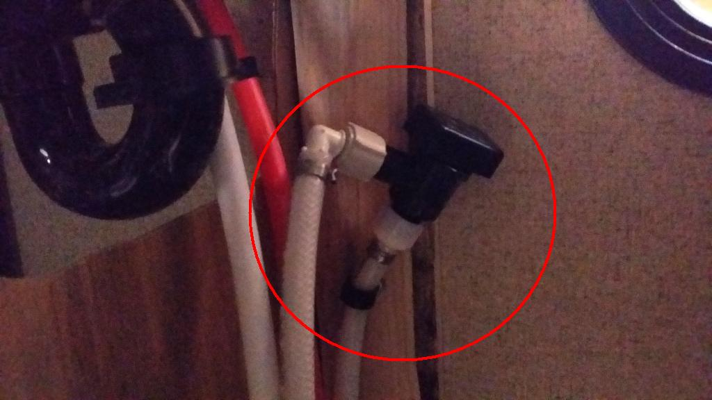 Picture Below Is Your Check Valve And That Is Surrounded By The Plumbing  For Your Sink.